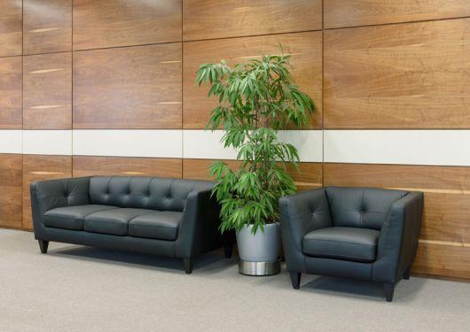 Как выбрать диван в офис