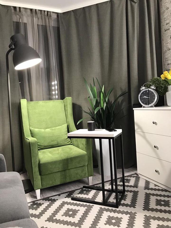 скандинавский стиль кресла